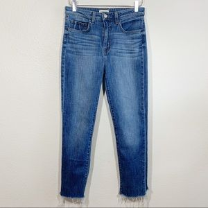 L'Agence Lorelei ultra high rise straight jeans